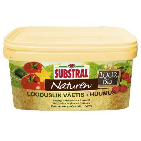 SUBSTRAL Naturen looduslik väetis + huumus 3,5 kg