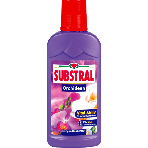 SUBSTRAL Orhideeväetis 250 ml