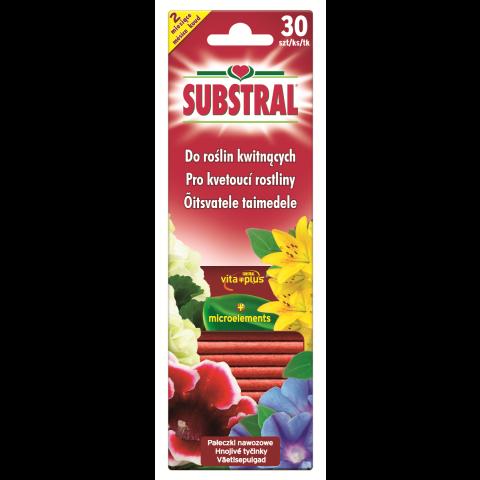 SUBSTRAL Väetisepulgad õitsvatele taimedele 30 tk